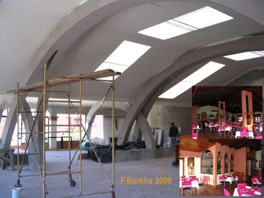 Entrada del restaurante del hotel 2008-2009