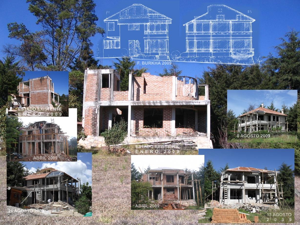 Remodelaci n de una casa habitaci n construcci n - Proyectos de construccion de casas ...