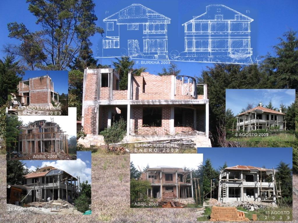 Proyecto de remodelación - enero 2009. Reanudacion de la construcción - marzo 2009