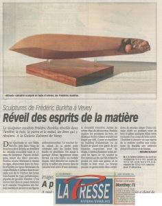 LA PRESSE RIVIERA Mireille Schnorf 9dec1996
