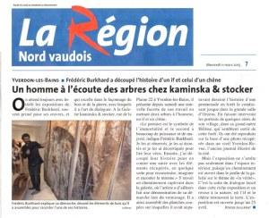 La Region Nord vaudois _11mars2015 Roger Juillerat s