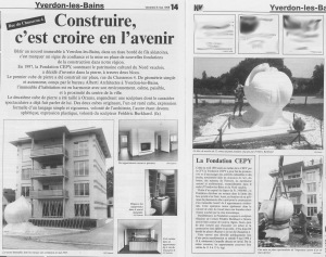 la region NV fondation CEPY1998