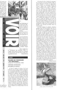 VOIR Francoise Jaunin 15 nov 1992