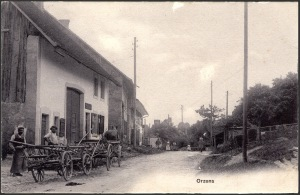 rue des Fontaines 25 Orzens vers 1900