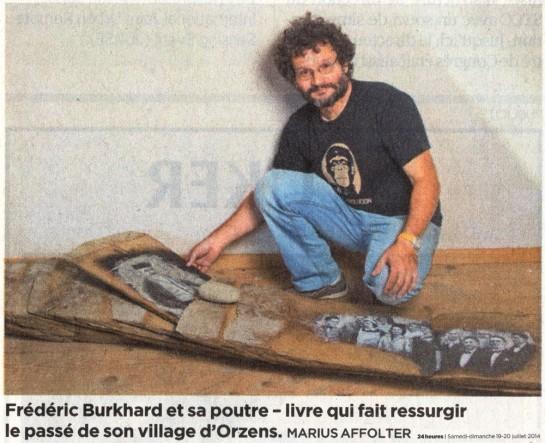Frederic Burkhard 24heures juillet2014 PHOTO AFFOLTRER