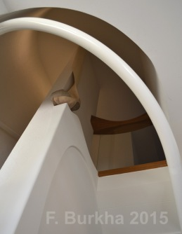 F Burkha sculpture escalier 01 2015
