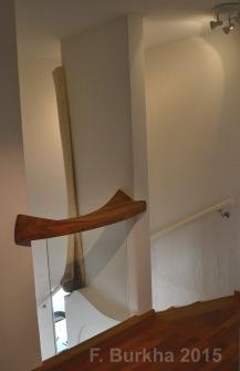 F Burkha sculpture escalier 02 2015