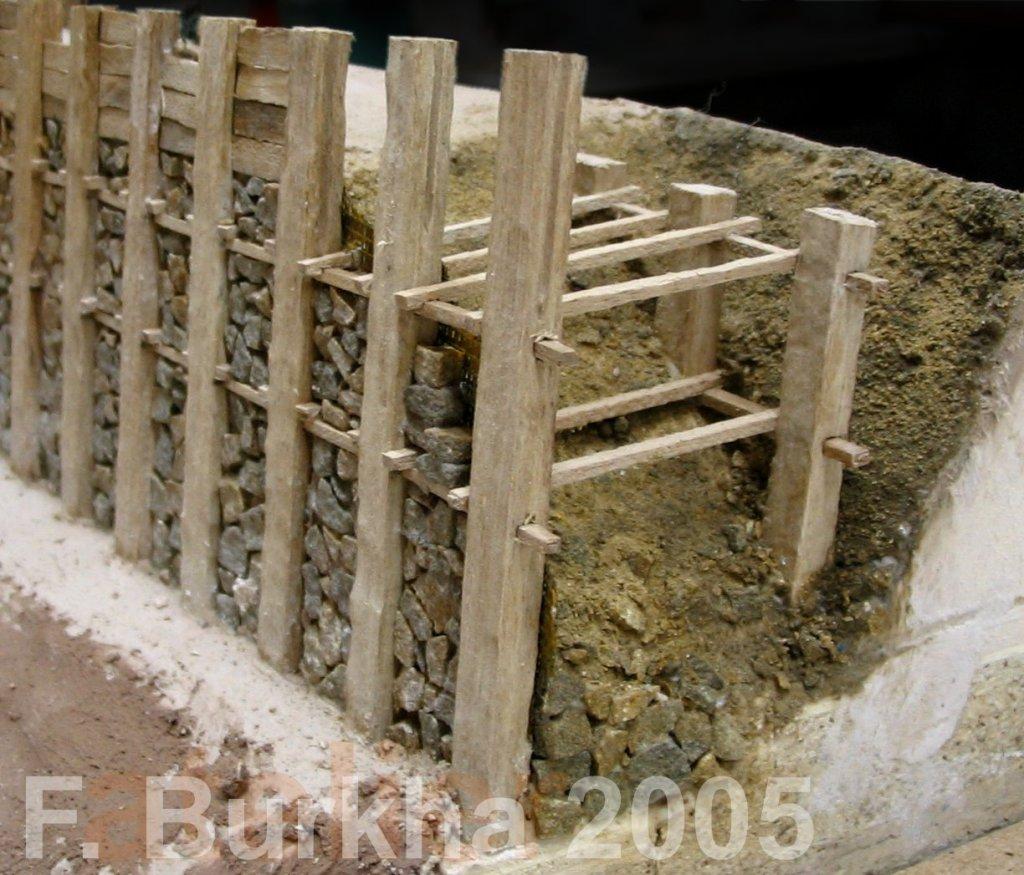 maquette rempart celte F-Burkha 2005