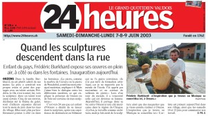 24heures EXPO FONTAINES 9 juin 2003
