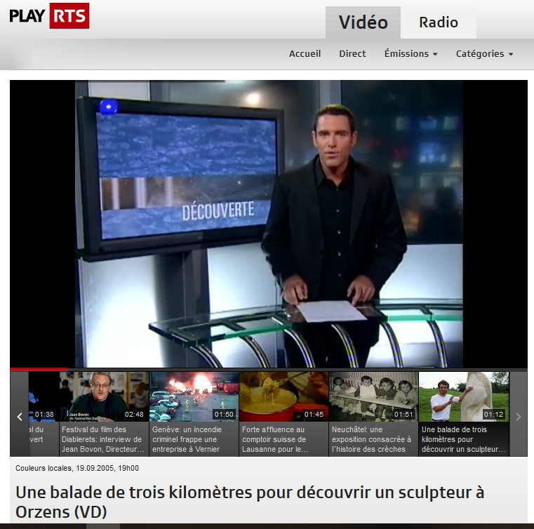 RTS Couleurs locales 19-09-2015