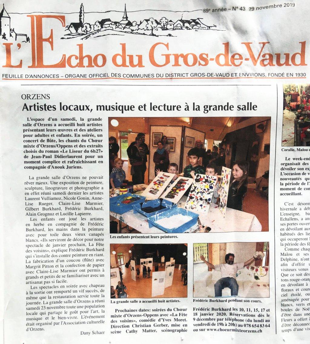 Echo du Gros-de-Vaud 29-nov-2019