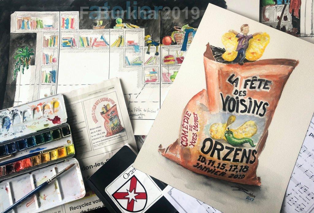 F-Burkha projets scenographie-aff FETE DES VOISINS 07-12-2019