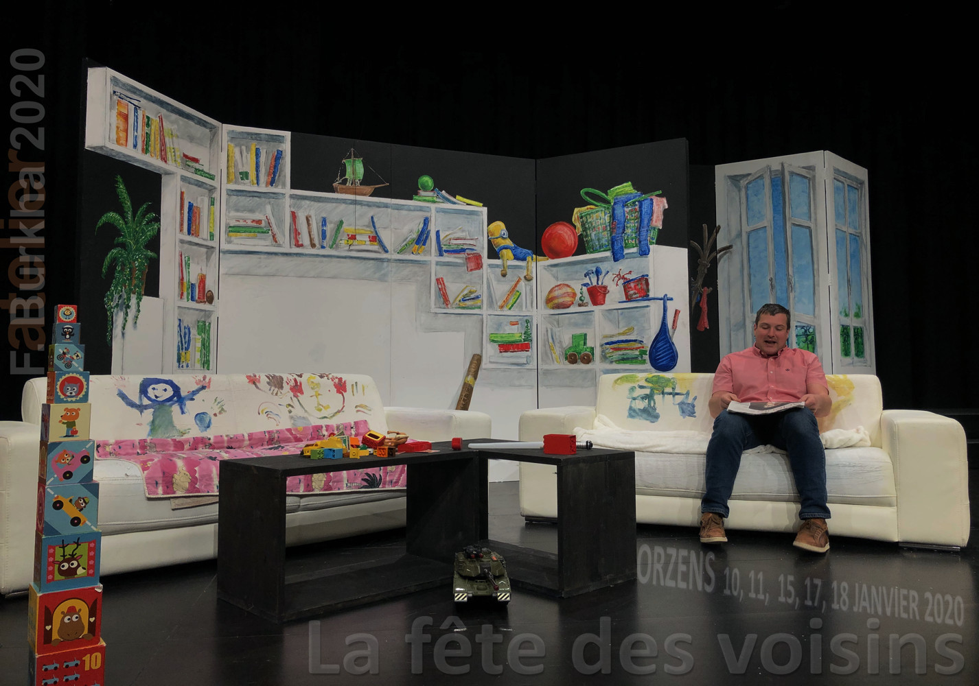01 F-Burkha scenographie FETE DES VOISINS 2020